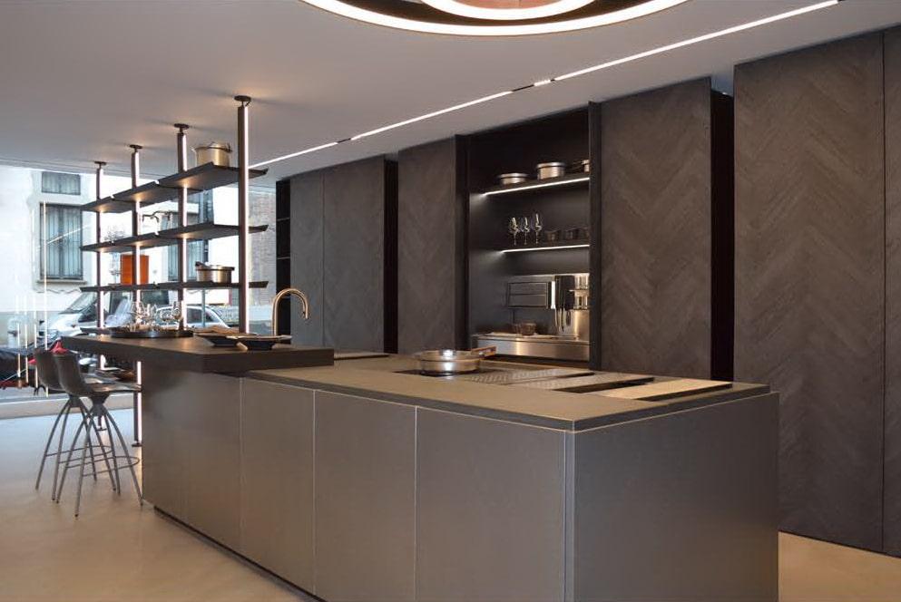 Binova mantis cucine di design da binova milano in via durini - Cucine wolf italia ...