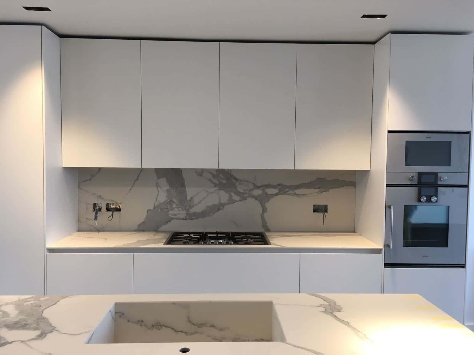 Cucine di Lusso Moderne: Progetto con Binova Mantis+Blua