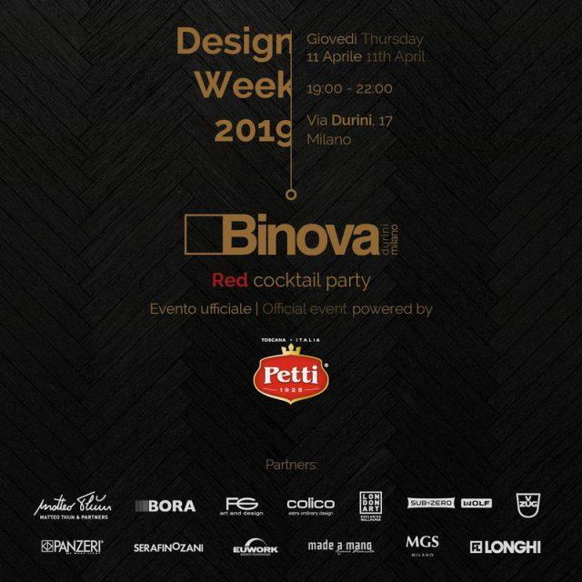Binova with Petti – 11 Aprile 2019