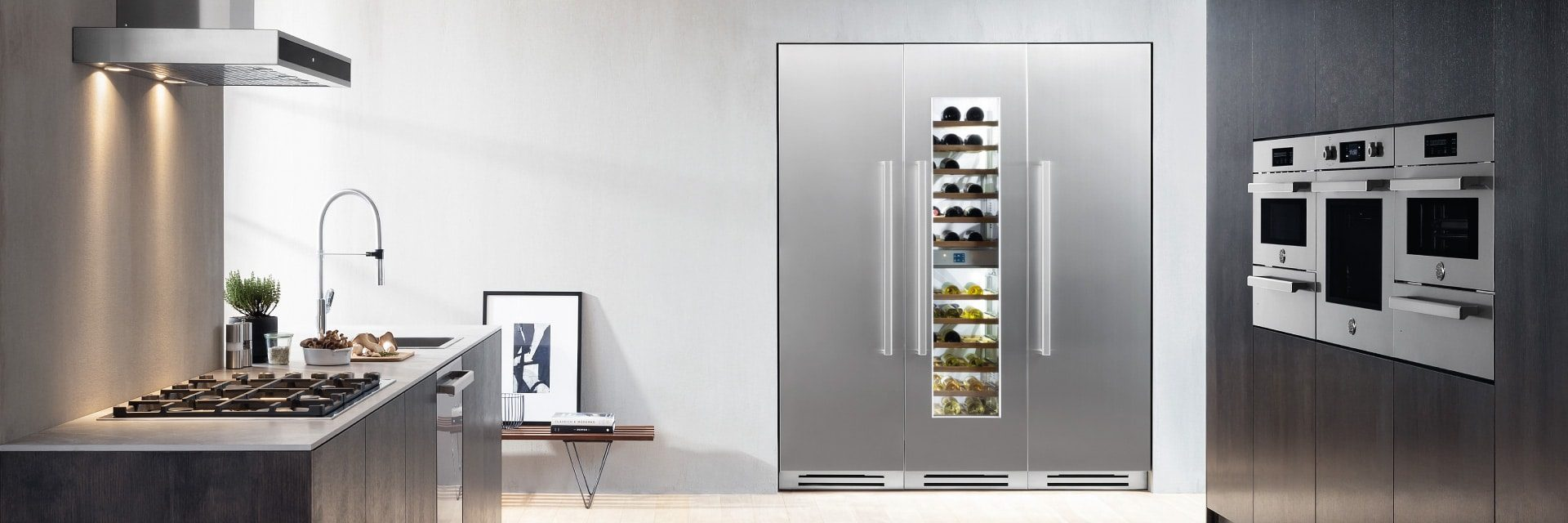 Perfet Cool <br /> New Built-In Column Collection <br/> Bertazzoni