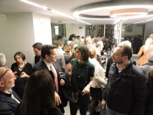 slide inaugurazione showroom binova milano via durini 12 - Inaugurazione -