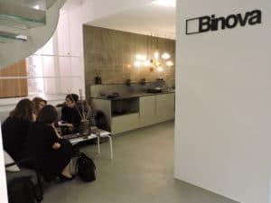 slide inaugurazione showroom binova milano via durini 22 - Inaugurazione -